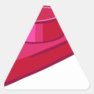 Kazoo Pegatina Triangular