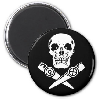 Kazoo Pirate 2 Inch Round Magnet