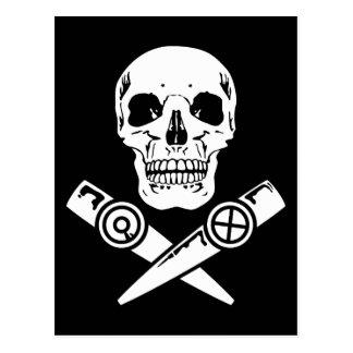 Kazoo Pirate Postcard