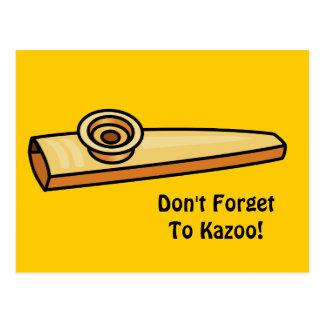 Kazoo Tarjetas Postales