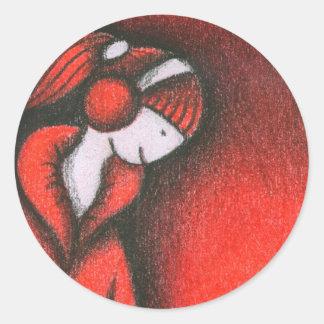 Kazumi Classic Round Sticker