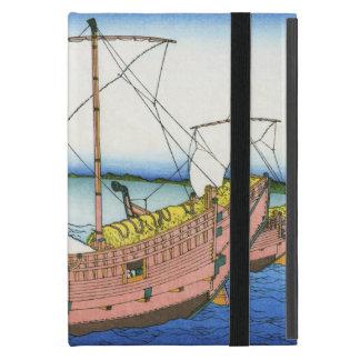 Kazusa Province Sea Route by Katsushika Hokusai Case For iPad Mini
