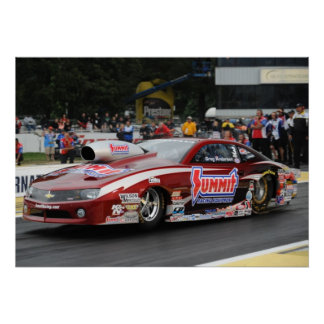 KB Racing-Greg Anderson Camaro Print