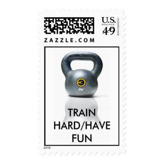 KBFEpic, TRAIN HARD/HAVE FUN Stamps