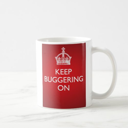 KBO Mug _ Bright Red