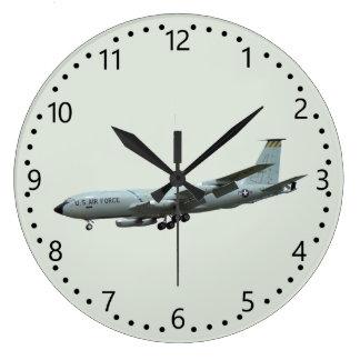 KC135A Stratotanker Large Clock