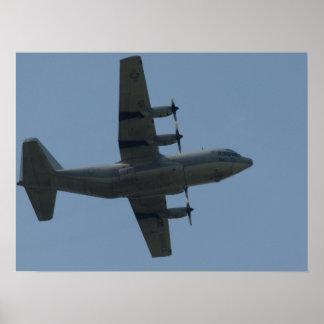 """KC-130 Hércules """"Ernie"""". Póster"""