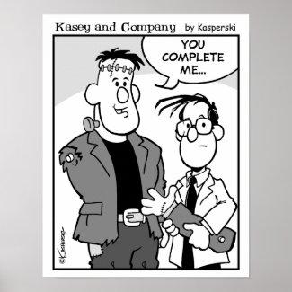 KC Cartoon Poster - 16-4