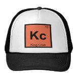 Kc - Símbolo de la tabla periódica de la química d Gorros Bordados