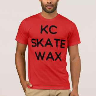 kc skate wax slippery tee