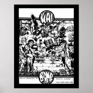 KCAI _ Beaux Arts - 1989 Poster