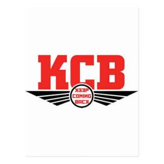 KCB - Guarde la mercancía de vuelta de la Postal
