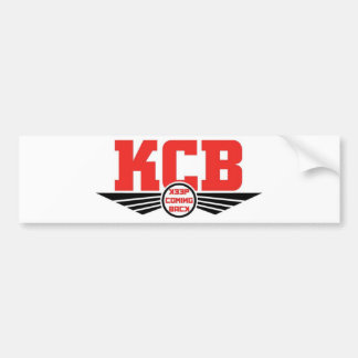 KCB - Guarde la mercancía de vuelta de la recupera Etiqueta De Parachoque