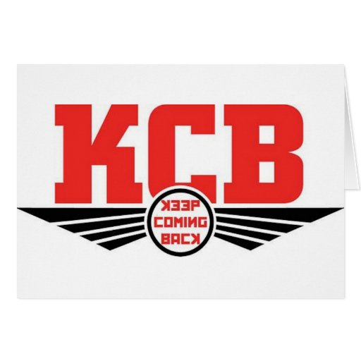 KCB - Guarde la mercancía de vuelta de la recupera Tarjetón