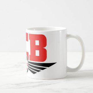 KCB - Guarde la mercancía de vuelta de la Taza Básica Blanca