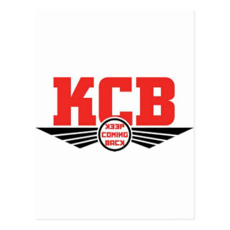 KCB - Keep Coming Back Recovery Merchandise Postcard