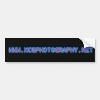 KC'S Photography Bumper Sticker