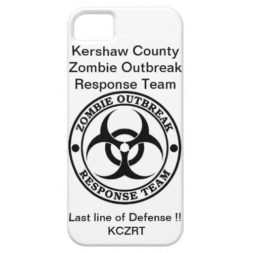 KCZRT Gear iPhone 5 Cases