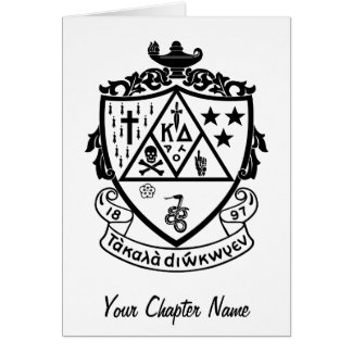 KD Crest Greeting Card