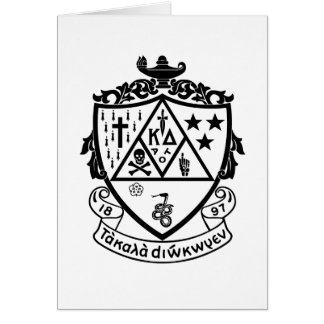 KD Crest Stationery Note Card