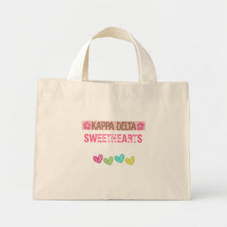 KD, heart, SWEETHEARTS Mini Tote Bag