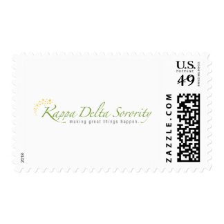 KD Sorority Logo Stamp