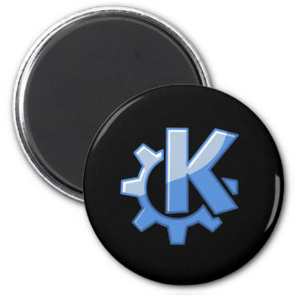 KDE Linux 2 Inch Round Magnet