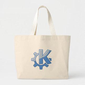 KDE Linux Large Tote Bag