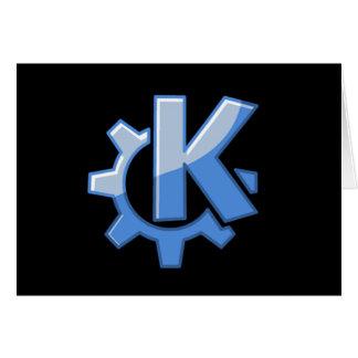 KDE Linux Tarjetón