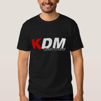 KDM oyen y la oscuridad de Seul Playera