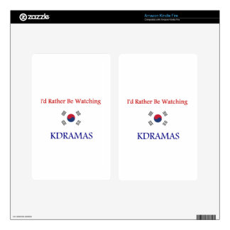 KDrama Decals For Kindle Fire