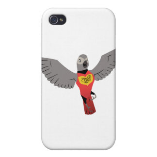 KDT Grey Super Hero Case For iPhone 4