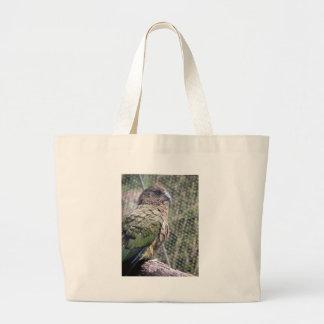 Kea: The Alpine Parrot Canvas Bags