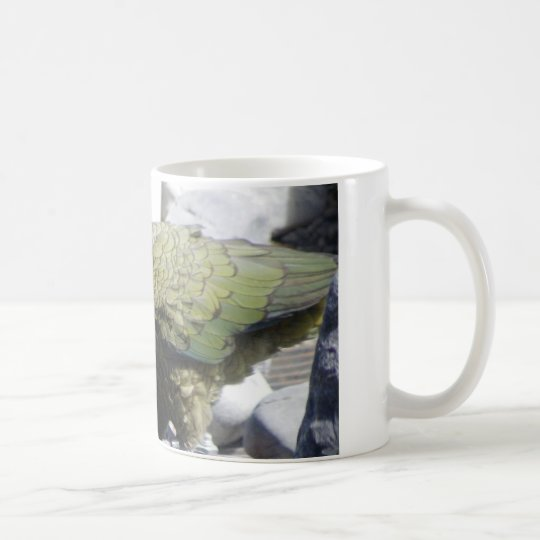 Kea: The Alpine Parrot Coffee Mug
