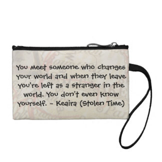 Keaira Quote Make-up Bag
