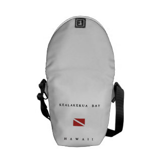 Kealakekua Bay Hawaii Scuba Dive Flag Courier Bag