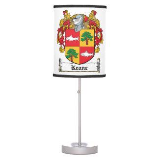 Keane Family Crest Desk Lamp