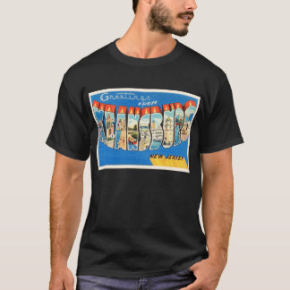 Keansburg New Jersey NJ Vintage Travel Postcard- T-Shirt