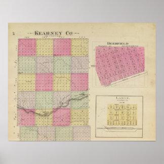 Kearney County, Deerfield, Lakin, Kansas Poster