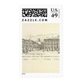 Kearny, Sacramento and Clay West Side Stamp