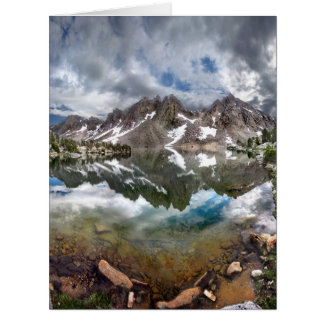 Kearsarge Lake and Pinnacles 2 - Sierra Nevada Card