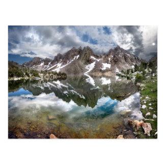 Kearsarge Lake and Pinnacles 2 - Sierra Nevada Postcard