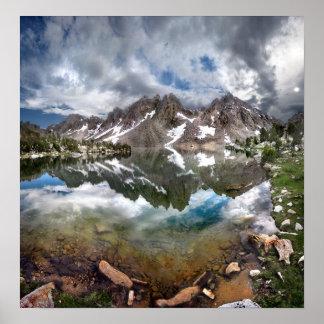Kearsarge Lake and Pinnacles 2 - Sierra Nevada Poster