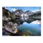 Kearsarge Lake / Kearsarge Pinnacles - Sierra Neva Postcard