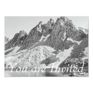 Kearsarge Pinnacles, The Sierra by Ansel Adams Card