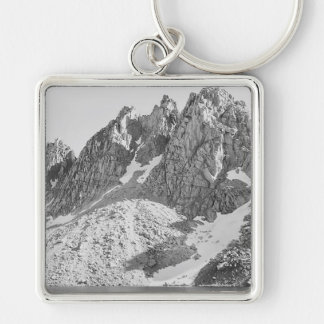 Kearsarge Pinnacles, The Sierra by Ansel Adams Keychain