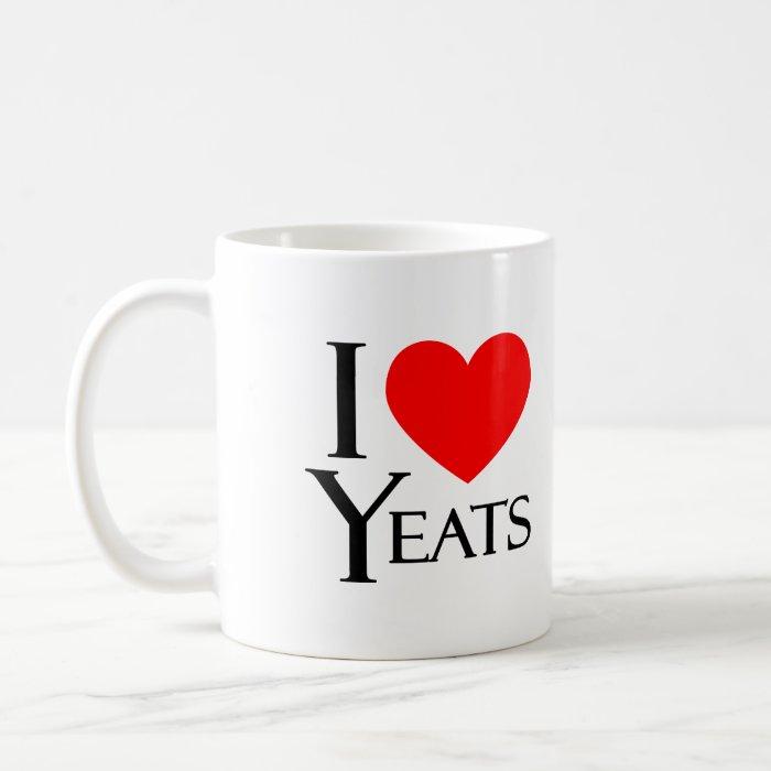 Keat and Yeats Coffee Mug