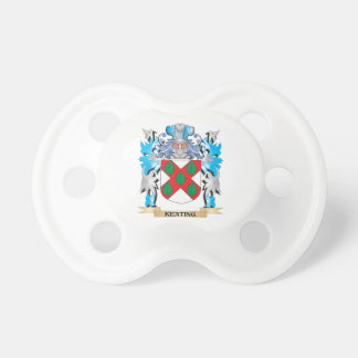 Keating Coat of Arms - Family Crest Baby Pacifiers