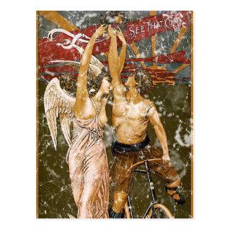 Keating Cycles-1905 - distressed Postcard