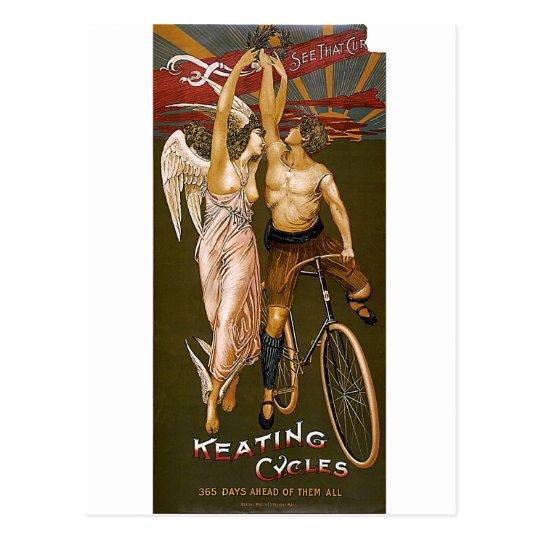Keating Cycles Postcard